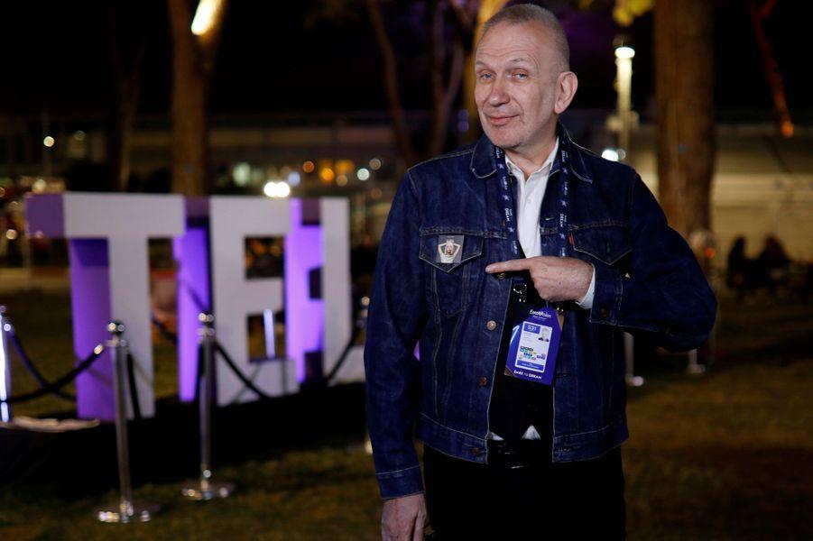 Jean Paul Gaultier a habillé Madonna qui est présente lors de la finale de l'Eurovision 2019