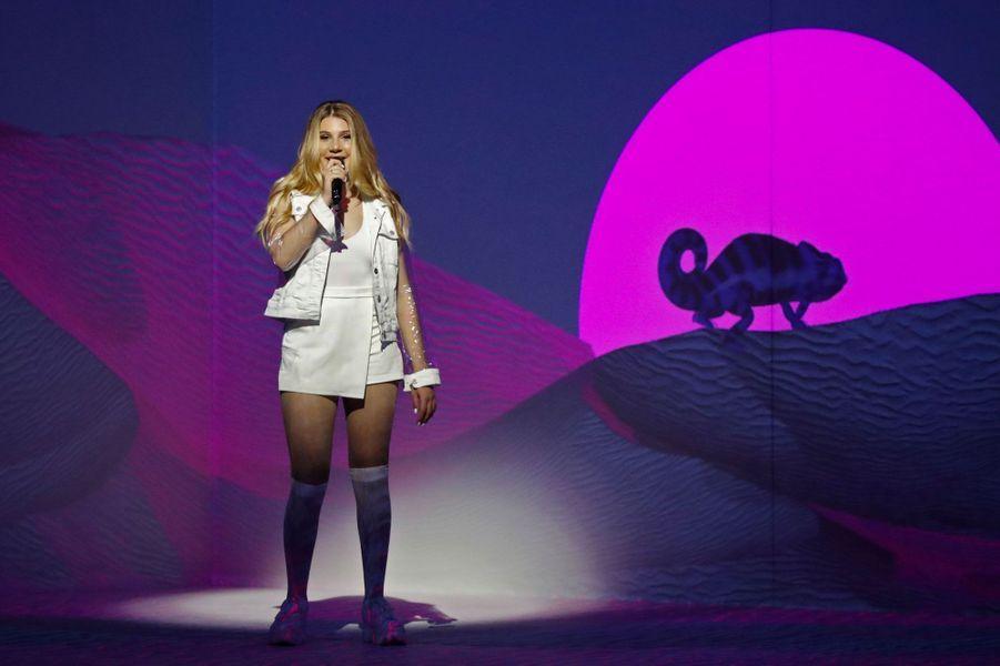 La chanteuse maltaiseMichela