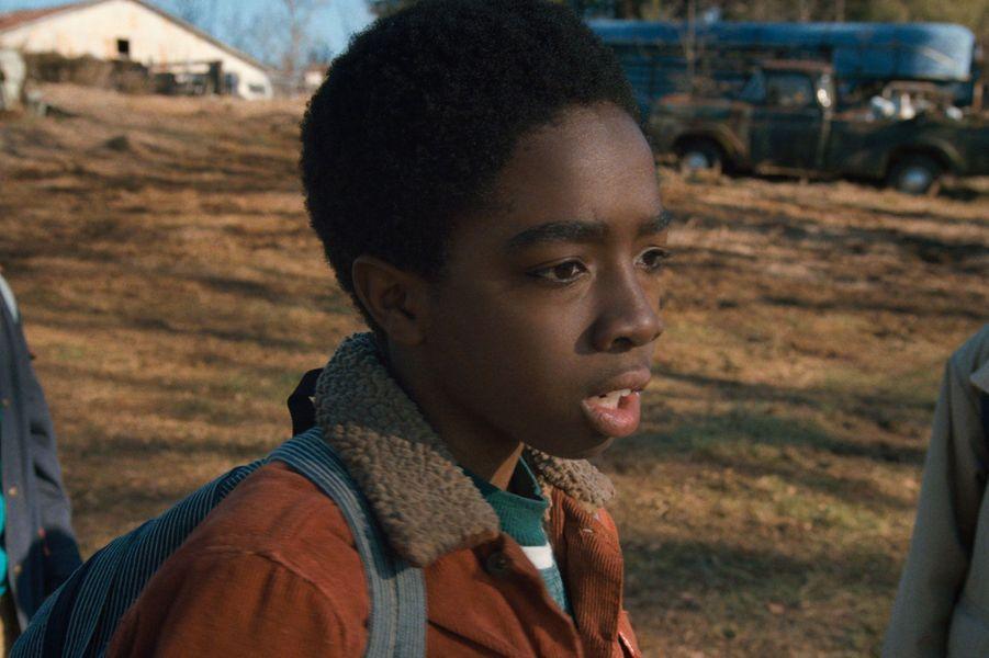 Caleb McLaughlin (Lucas) dans la saison 1