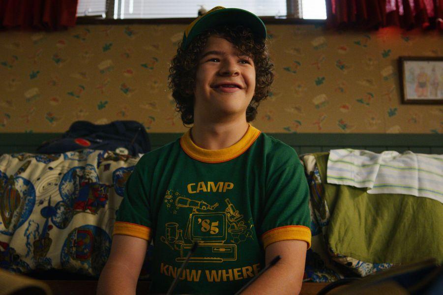 Gaten Matarazzo (Dustin) dans la saison 3