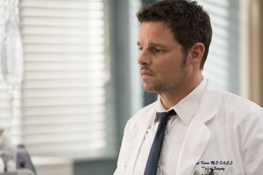 "Alexander ""Alex"" Karev (Justin Chambers) durant la saison 15"