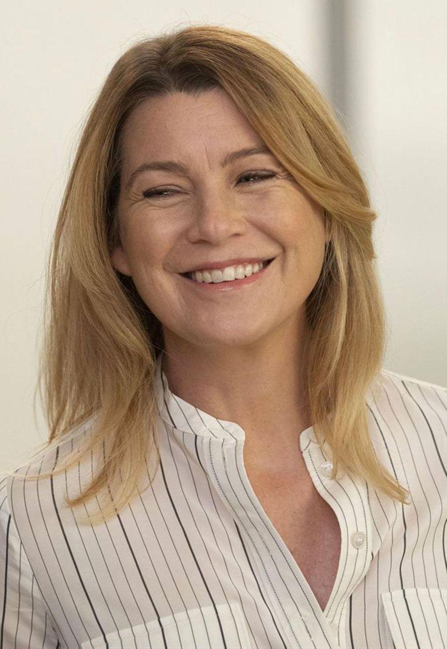 "Meredith Grey (Ellen Pompeo) dans la saison 15 de ""Grey's Anatomy"" en 2018"