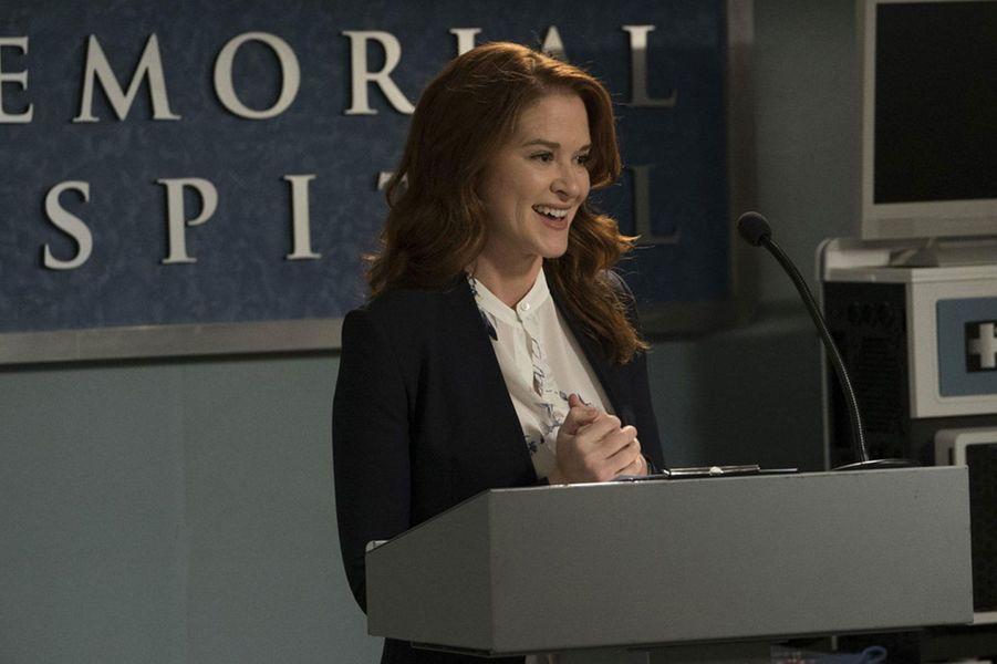 April Kepner (Sarah Drew) en 2018