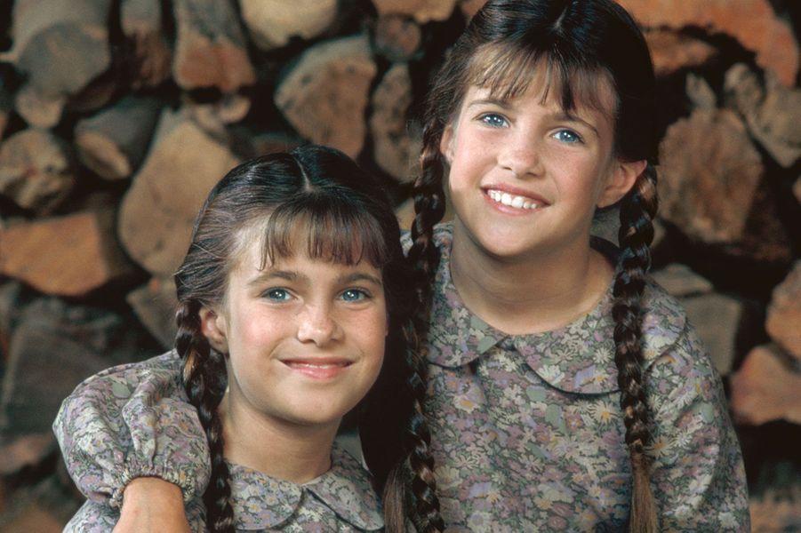 Carrie Ingalls (les jumellesLindsay et Sidney Greenbush) en 1998