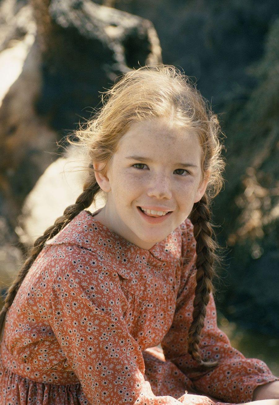 Laura Ingalls Wilder (Melissa Gilbert) en 1974