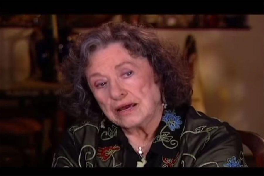 Harriet Oleson (Katherine MacGregor) en 2012