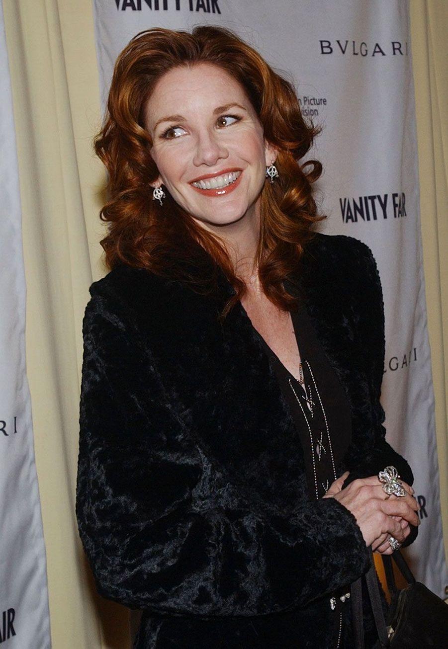 Laura Ingalls Wilder (Melissa Gilbert) en 2003