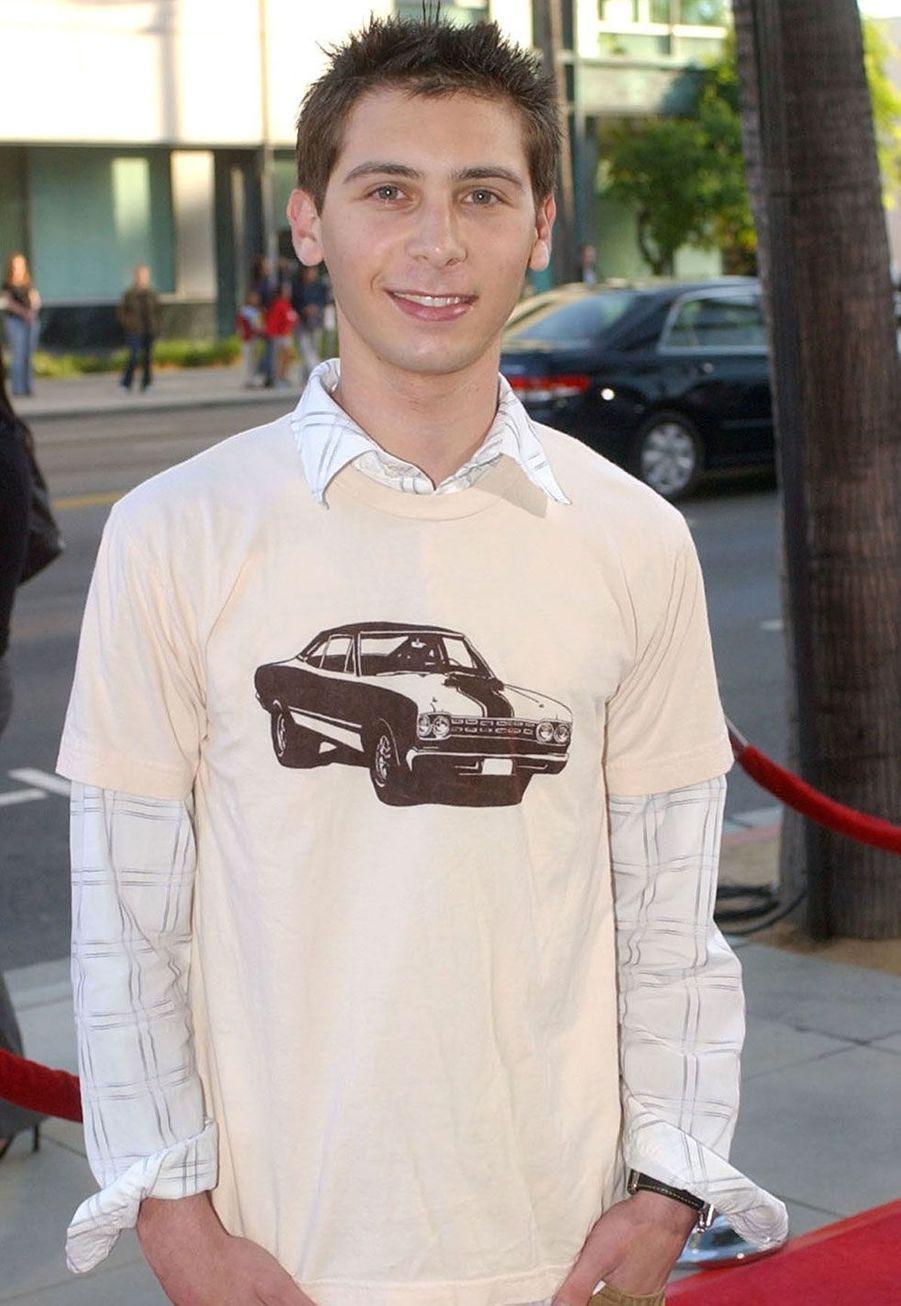 Justin Berfield (Reese) en 2004