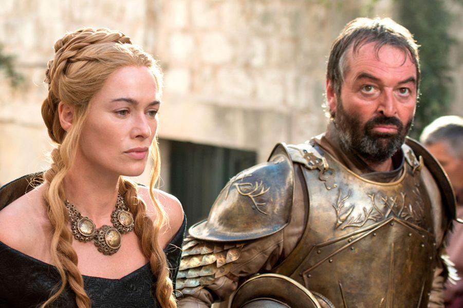 Cersei Lannister et Meryn Trant