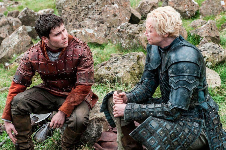 Podrick Payne et Brienne of Tarth