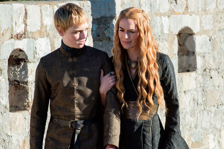 Tommen Baratheon et Cersei Lannister