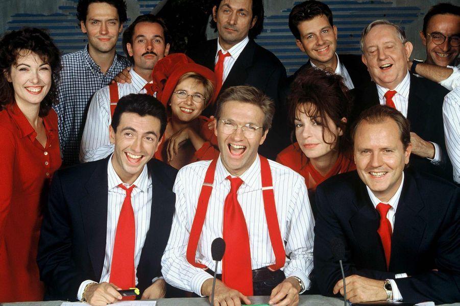 """Les Niouzes"" de TF1 en 1995"