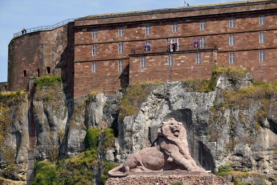 Citadelle et le Lion de Belfort (Bourgogne-Franche-Comté)
