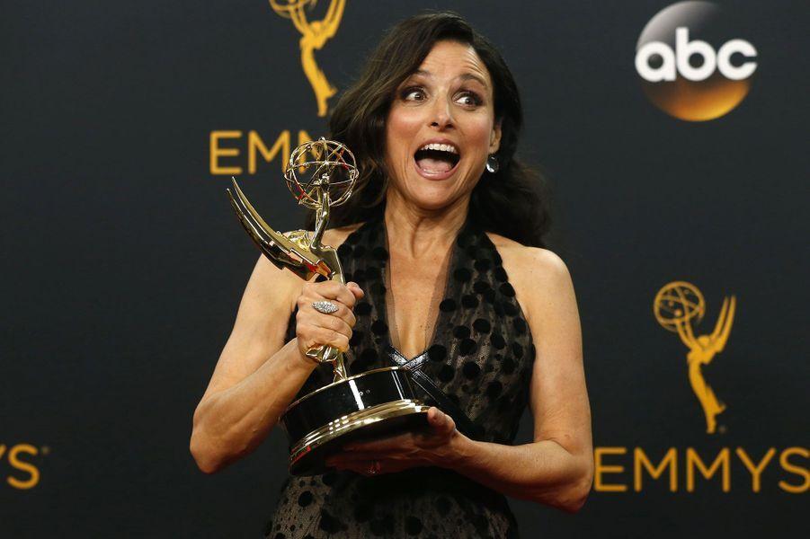 """Meilleure actrice dans une série comique : Julia Louis-Dreyfus, """"Veep"""" (HBO)"""