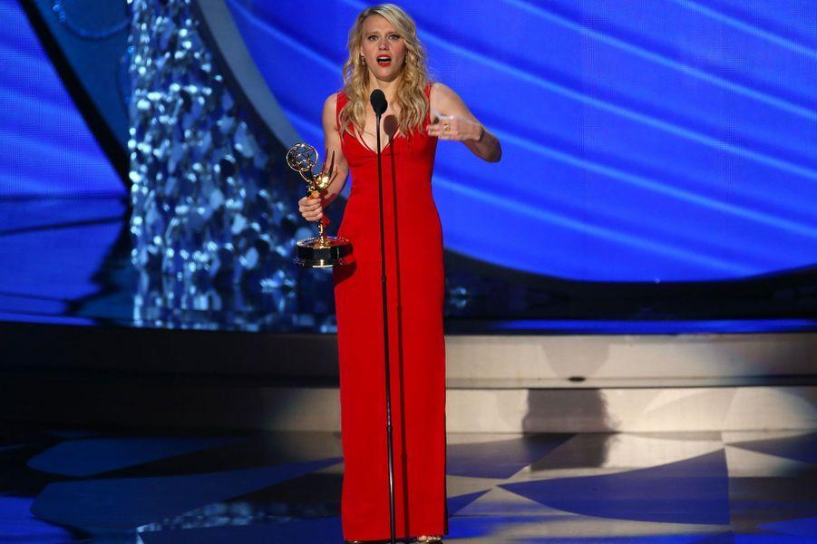 """Meilleure actrice second rôle dans une comédie : Kate McKinnon, """"Saturday Night Live"""" (NBC)"""