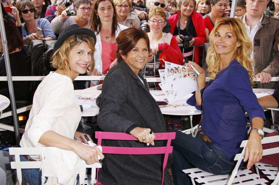 Juliette Tresanini,Charlotte Valandrey et Ingrid Chauvin
