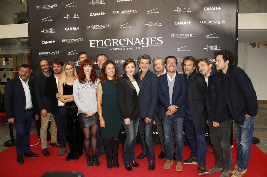 """Le casting d'""""Engrenages"""""""
