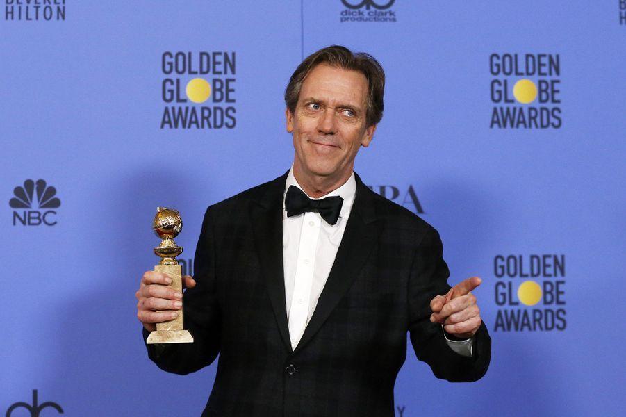 Meilleur second rôle pour un acteur dans une série, une mini-série ou un téléfilm :Hugh Laurie, «The Night Manager»