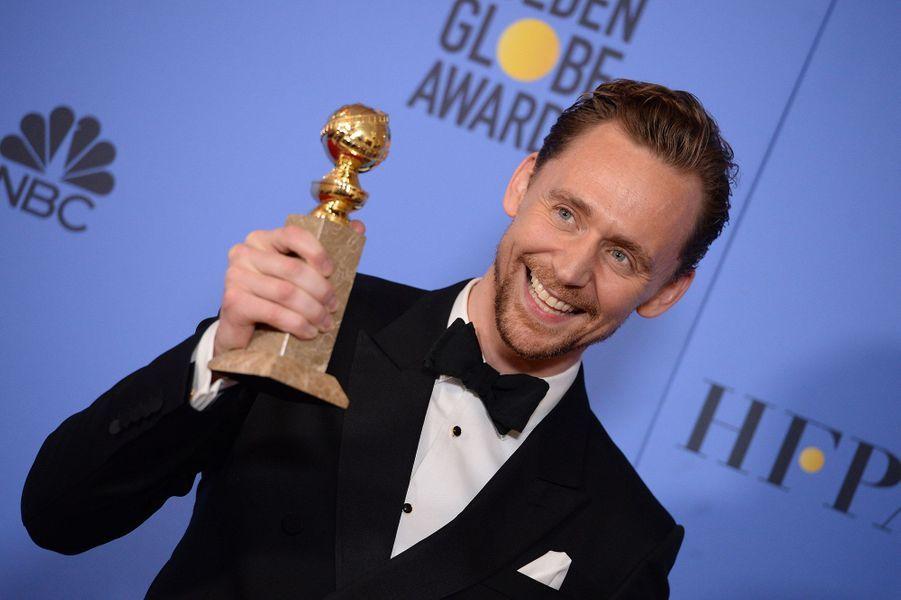 Meilleur acteur dans une série, une mini-série ou un téléfilm :Tom Hiddleston, «The Night Manager»
