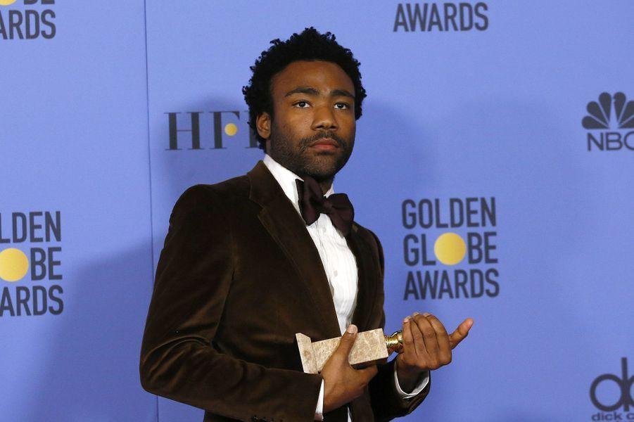 Meilleur acteur dans une série télévisée musicale ou comique :Donald Glover, «Atlanta»