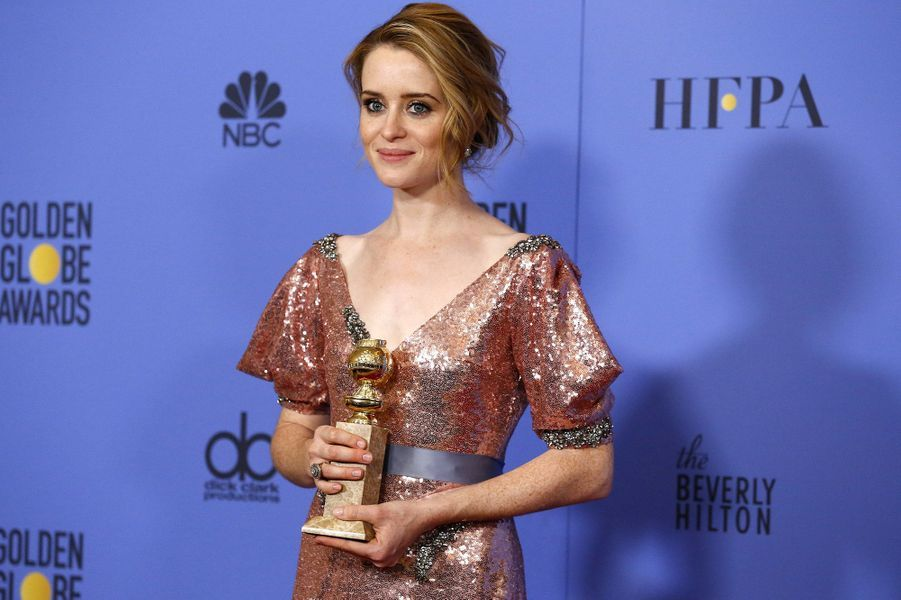 Meilleure actrice dans une série dramatique :Claire Foy, «The Crown»