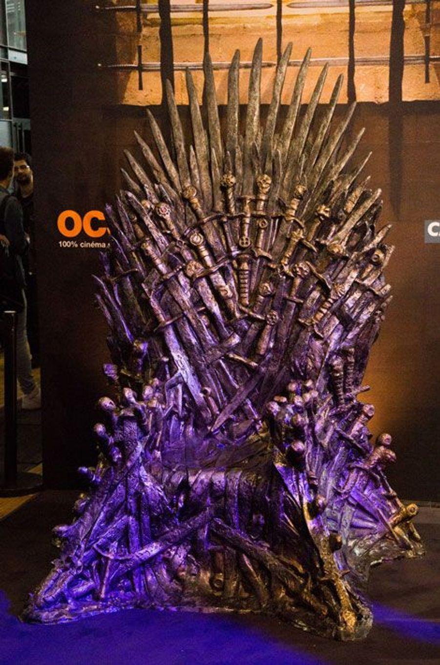 """Le trône de fer de """"Game of Thrones"""""""