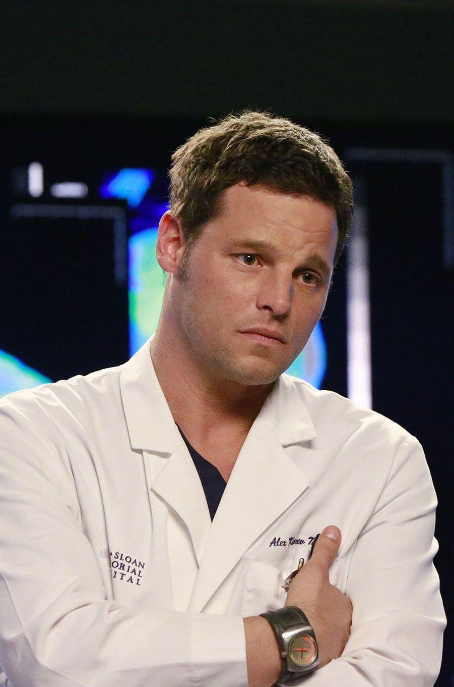 "Alex Karev (Justin Chambers) de ""Grey's anatomy"""
