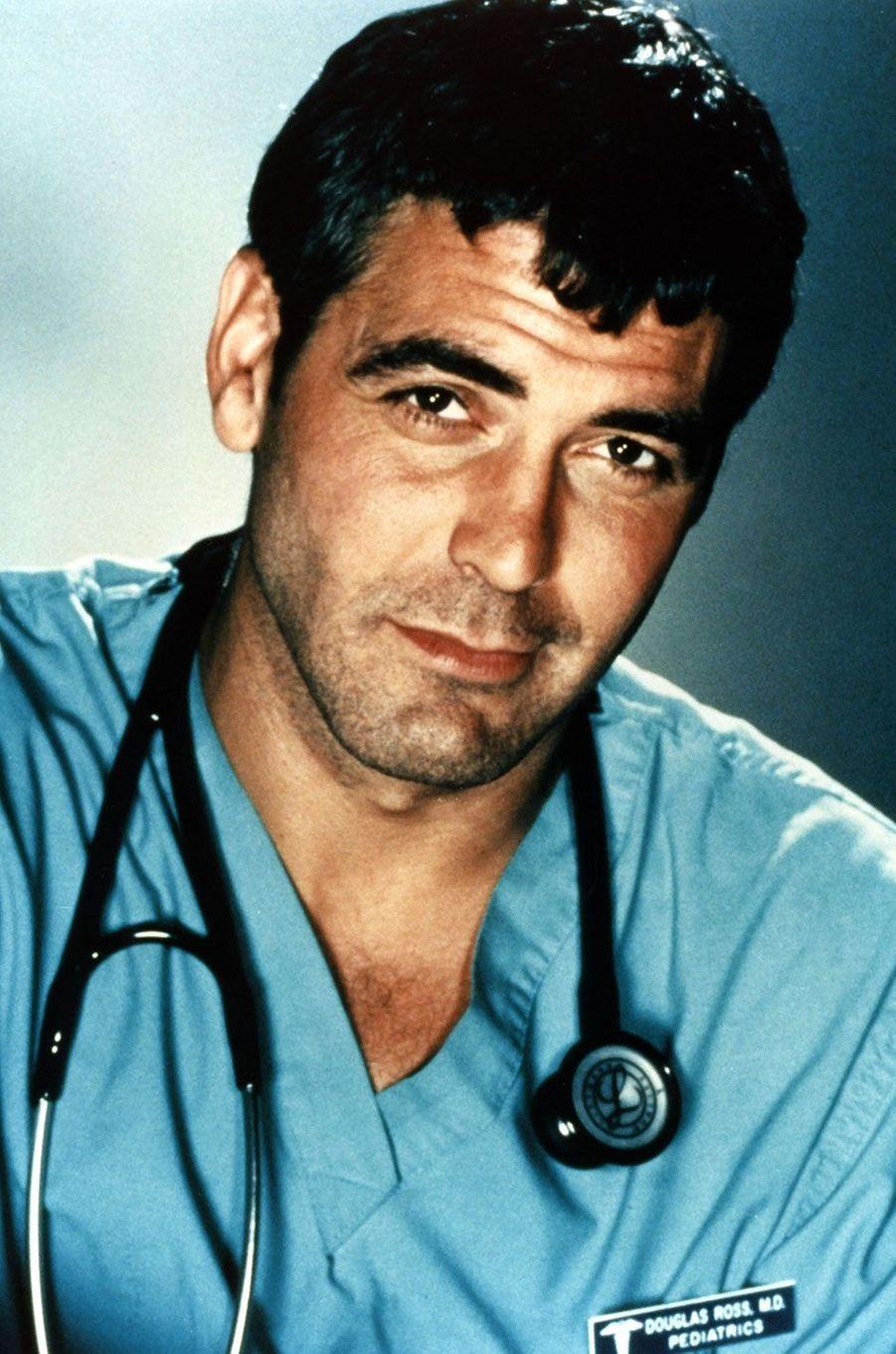 """Dr Douglas Ross (George Clooney) d'""""Urgences"""""""