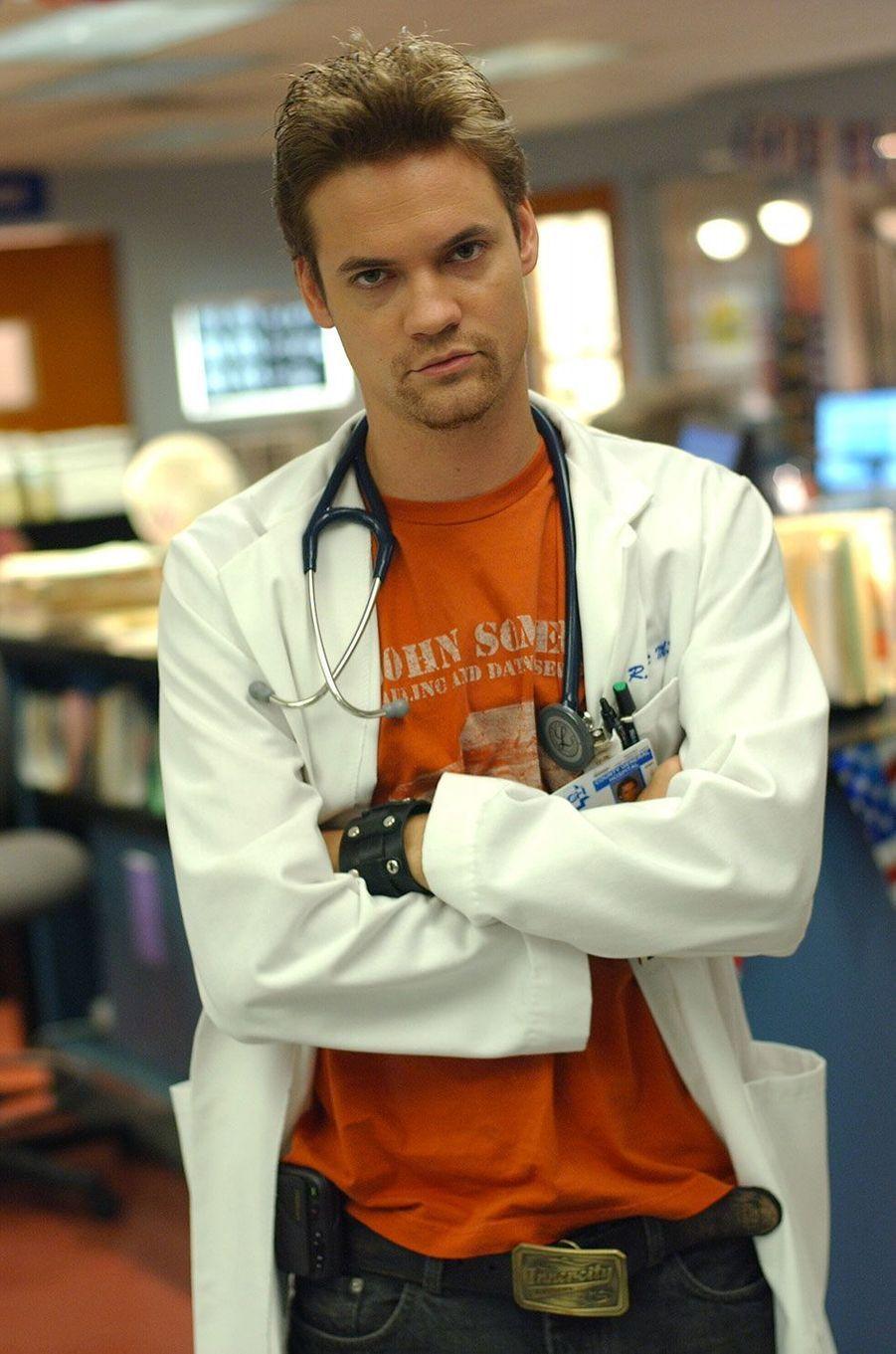 "Dr Ray Barnett (Shane West) d'""Urgences"""