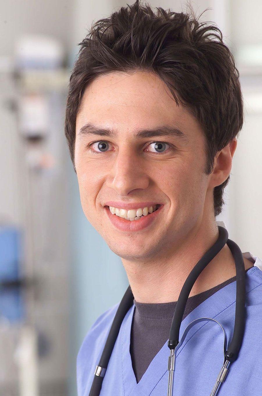 """J.D. Dorian (Zach Braff) de """"Scrubs"""""""