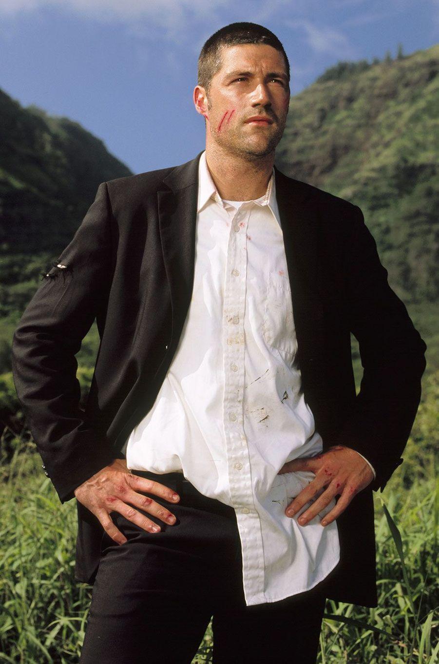 """Jack Shephard (Matthew Fox) dans """"Lost"""""""
