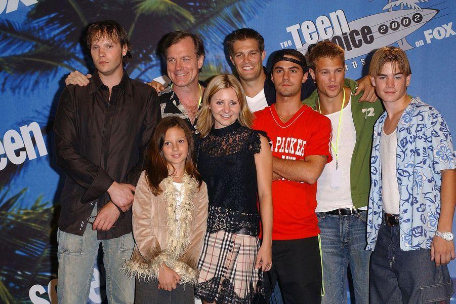 """Le casting de """"Sept à la maison"""" en 2002"""
