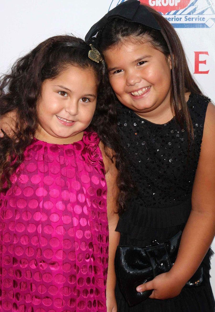 Daniella Baltodano (Celia Solis) et Madison De La Garza en 2009
