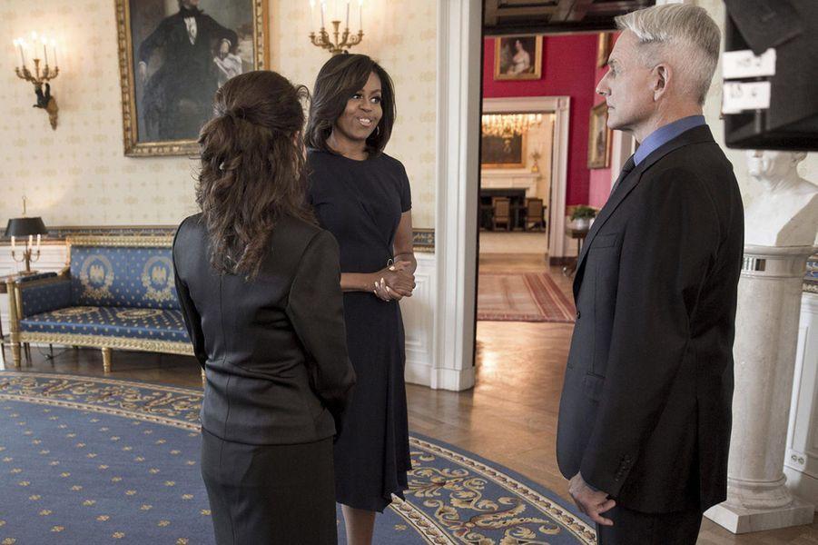 """Michelle Obama dans """"NCIS"""""""
