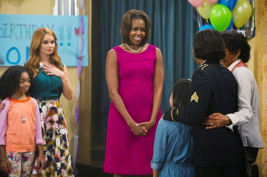 """Michelle Obama dans """"Jessie"""""""