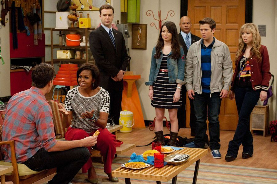 """Michelle Obama dans """"iCarly"""""""