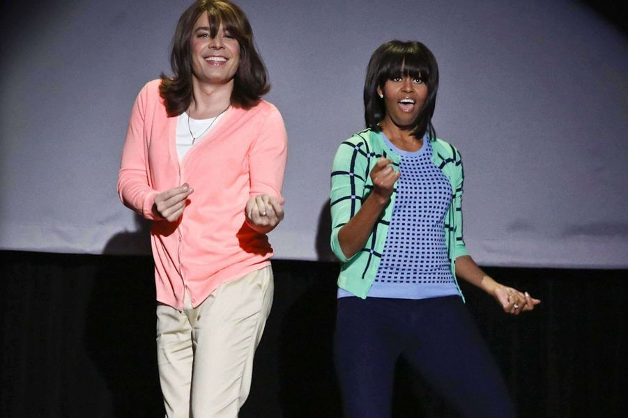 """Michelle Obamaau """"ate Night with Jimmy Fallon"""""""
