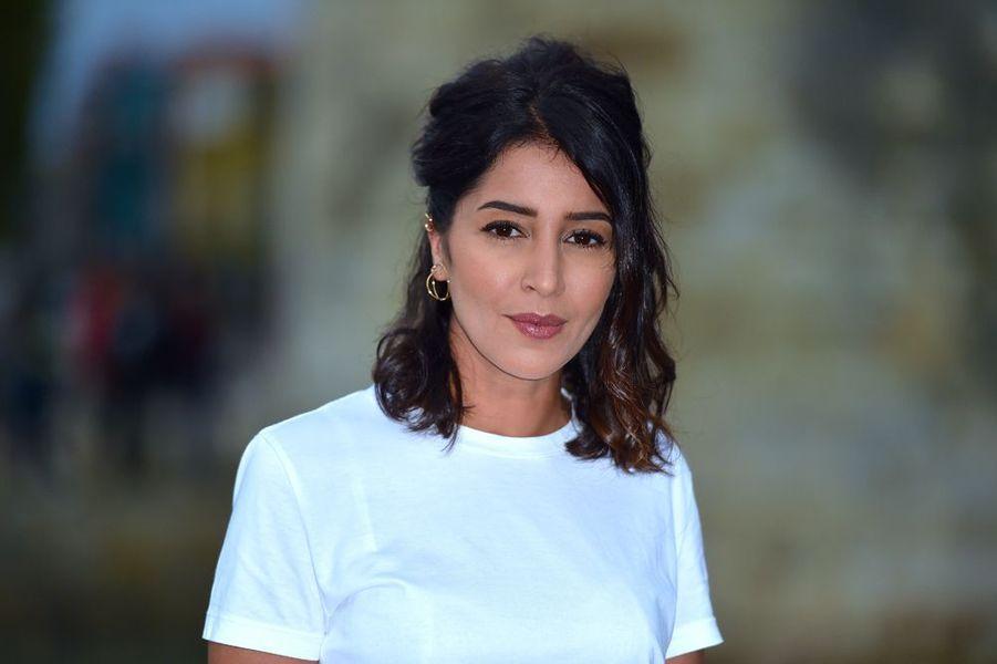 Leïla Bekhti à La Rochelle.