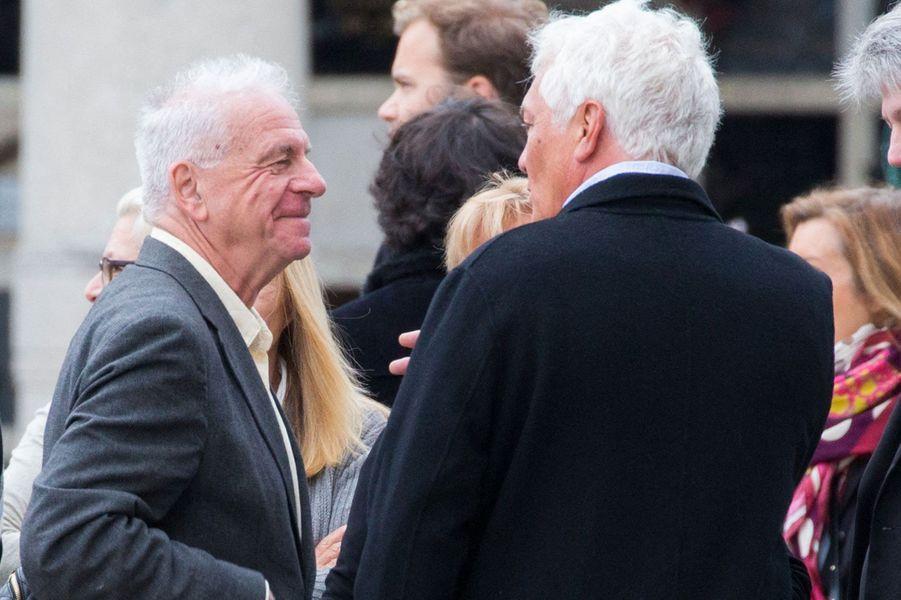 Jacky aux obsèques d'Ariane, samedi à Paris