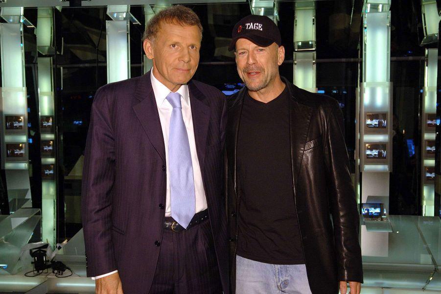 Avec Bruce Willis