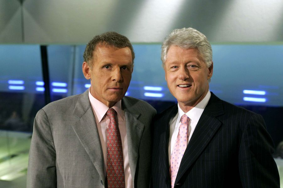 Avec Bill Clinton