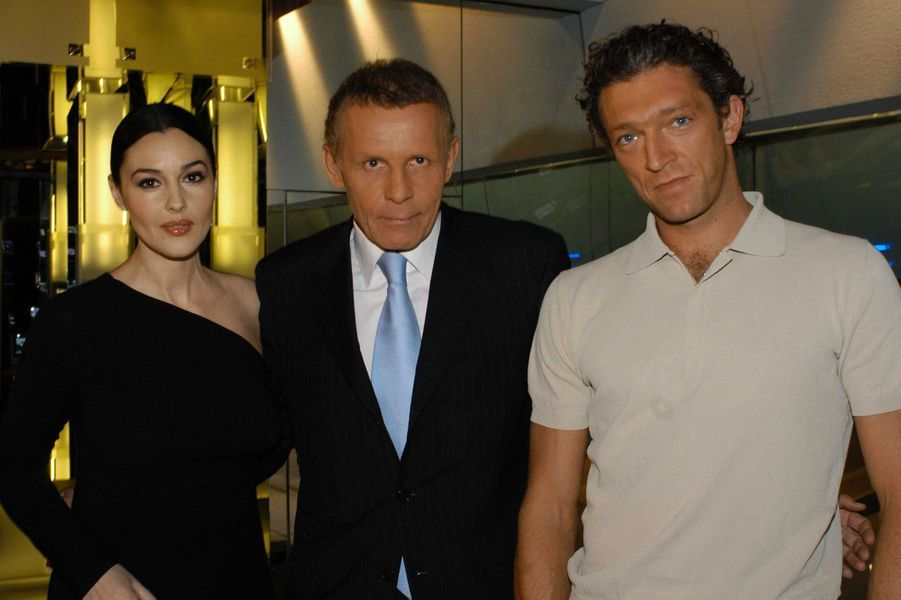Avec MonicaBellucci et Vincent Cassel