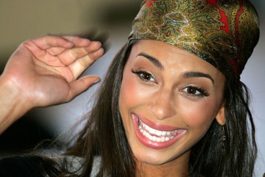 Tatiana en juillet 2006, en marge du concours de Miss Univers à Los Angeles.