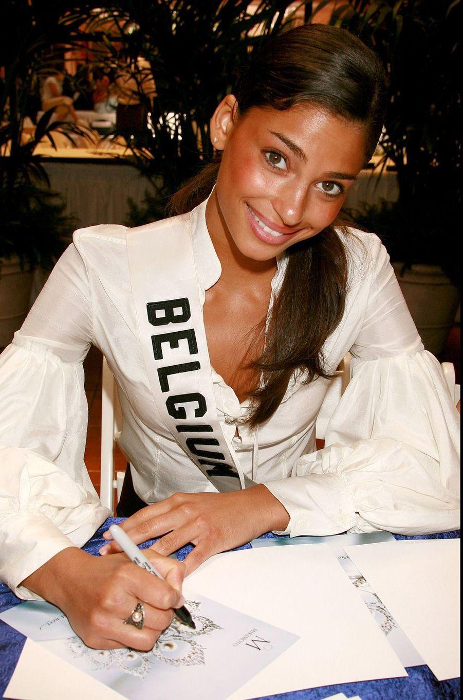 Tatiana Silvaà Los Angeles en 2006 en marge du concours Miss Univers.