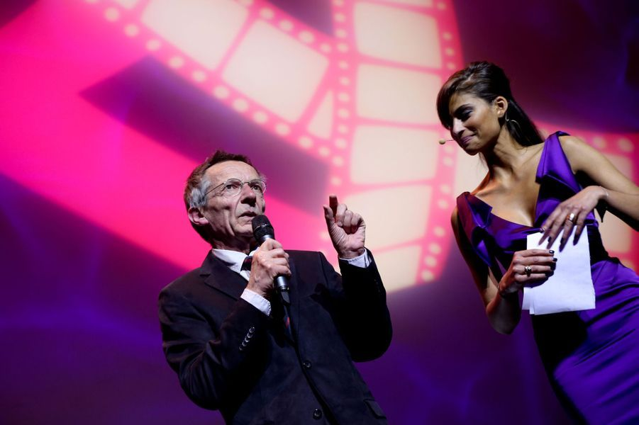 Février 2014, Patrice Leconte et Tatiana Silva lors duFestival International du Film d'Amour de Mons (Belgique).