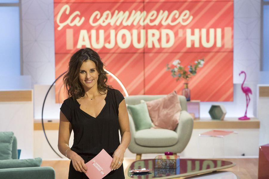 """Faustine Bollaert a quitté M6 pour animer """"Ça commence aujourd'hui"""" sur France 2 à 14 heures"""
