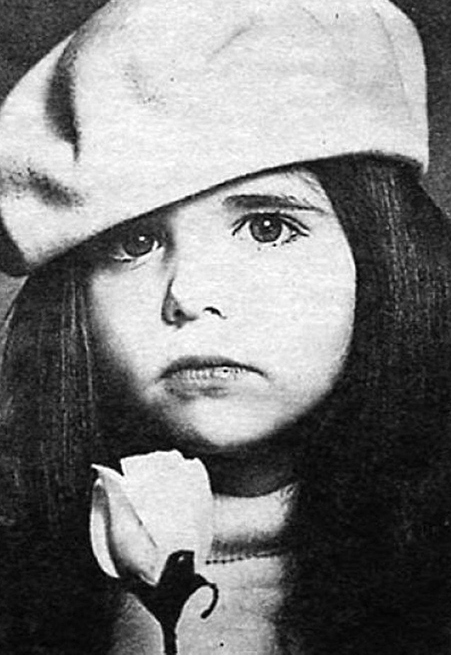 Sarah Michelle Gellar lorsqu'elle était enfant