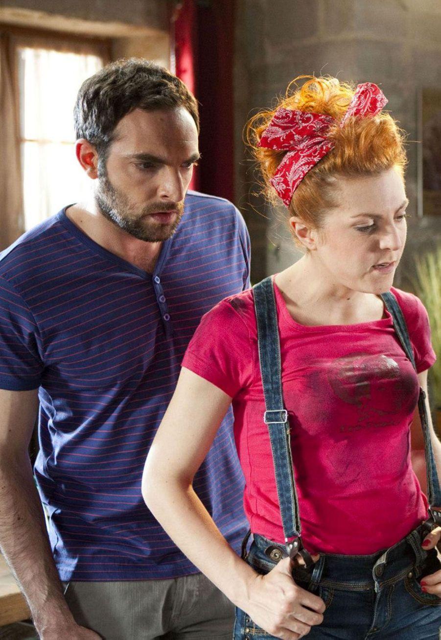 David Mora (Fabien) etAnne-Élisabeth Blateau (Emma)