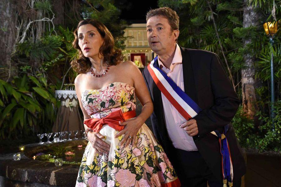Valérie Karsenti (Liliane) etFrédéric Bouraly (José)