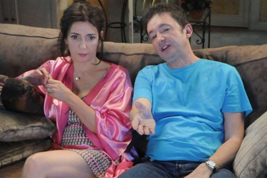 Valérie Karsenti (Liliane) et Frédéric Bouraly (José)